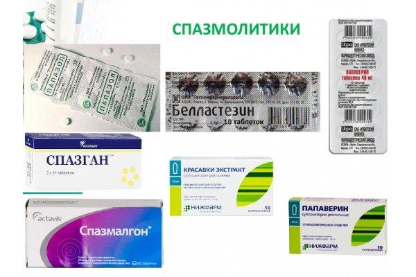 спазмолитики список лекарств